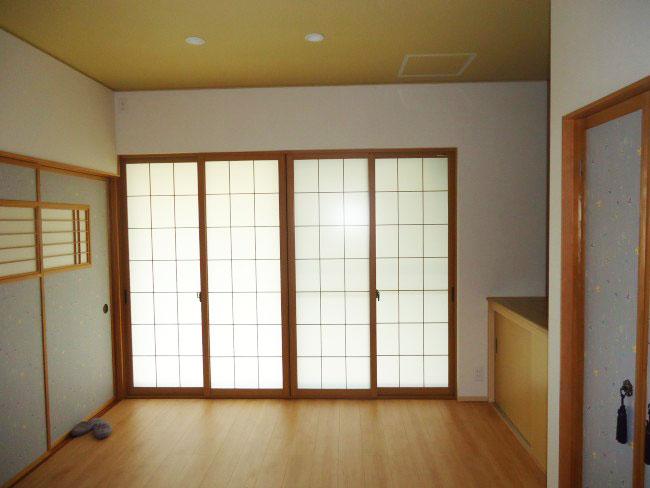 リフォーム 和室内窓