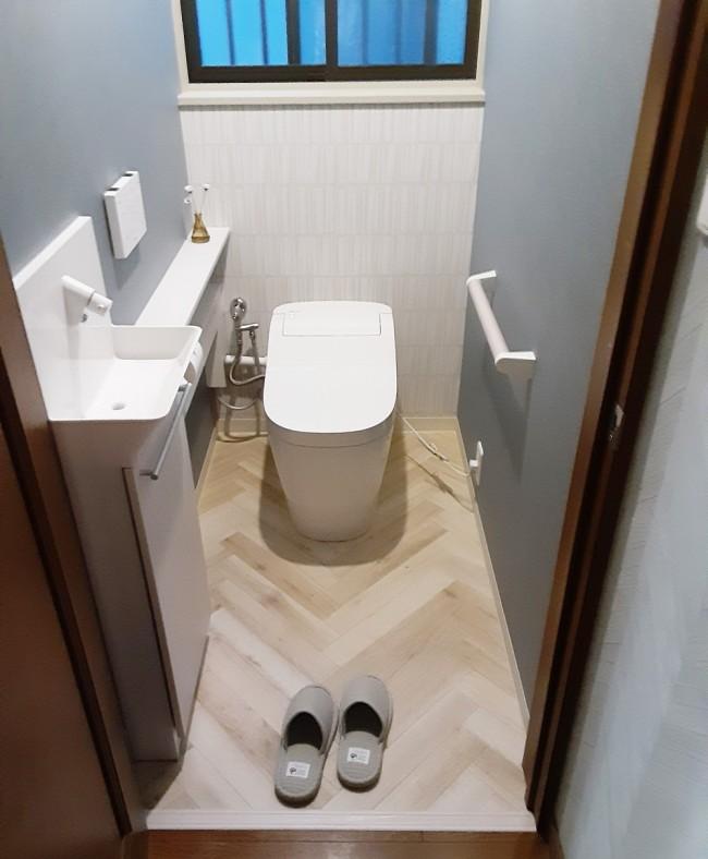 トイレのリフォーム 敦賀店より[Vol.516]
